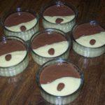 Crème mic-mac (vanille et chocolat dans un même récipient)