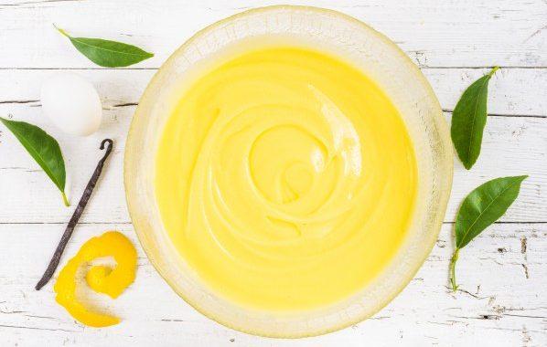 Crème pâtissière au citron