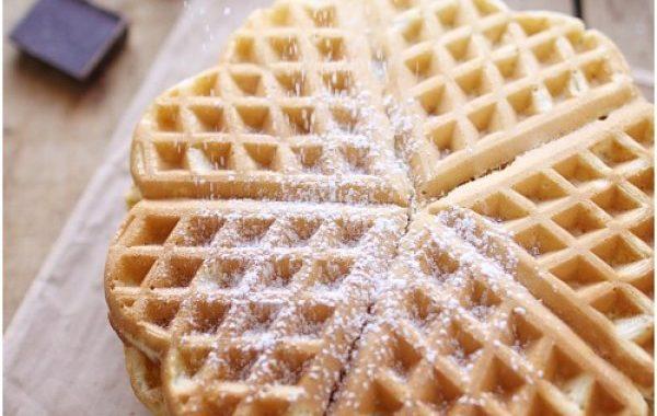 Pâte à gaufres aux saveurs d'antan