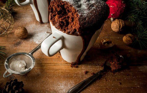 Mugcake au chocolat (gâteau individuel cuit au micro-ondes)