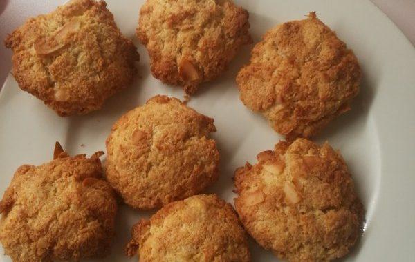 Biscuits simple à la noix de coco