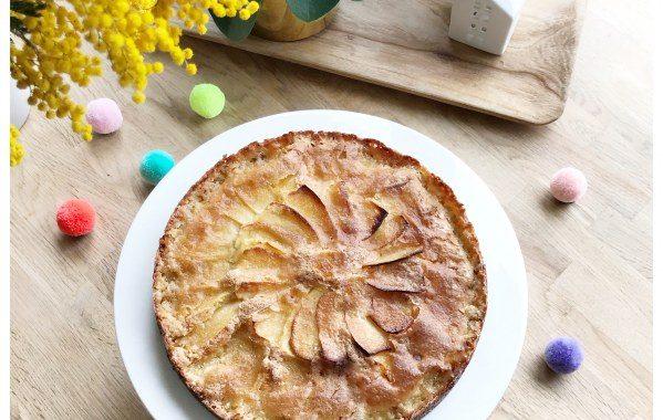 Gâteau aux pommes croustillant de maman