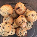 Muffins amandes et fleur d'oranger