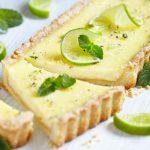 Tarte au citron vert (ou jaune) facile