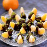 Clémentines chocolat pistache