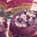 Rainbow cake Popo et Fanny