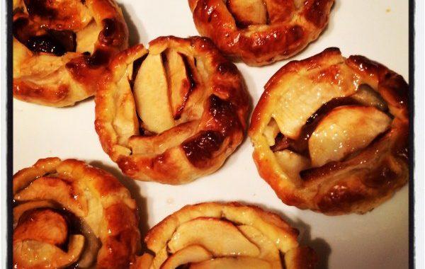 Tarte minute aux pommes et au spéculoos