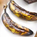Bananes au chocolat au barbecue