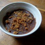 Verrine crème de marron, spéculoos et chantilly