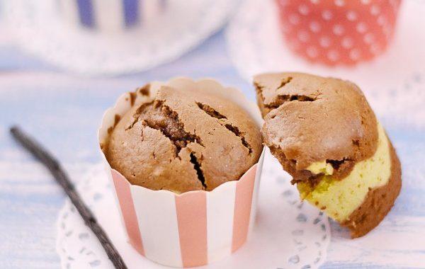 Muffin chocolat avocat