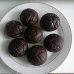 Muffins au chocolat coeur fondant allégé (sans beurre)