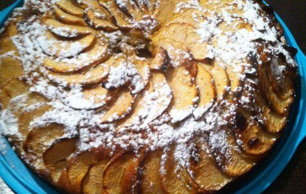 Gâteau aux pommes de grand mère