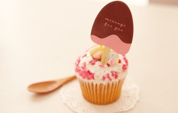 Mes cupcakes aux pépites de chocolat