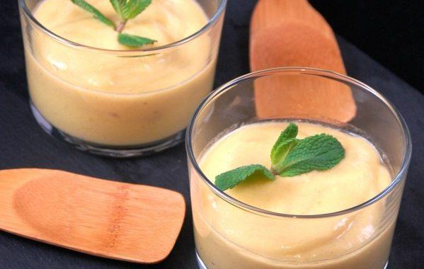 Crème de mangue facile et légère