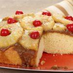 Gâteau à l'ananas (sans lait, sans blé, sans soja, sans gluten)