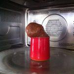 Moelleux au Nutella facile au micro-ondes
