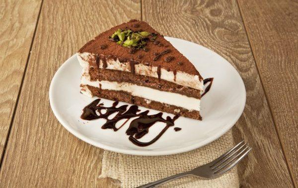 Gâteau aux 2 chocolats (lait et blanc)