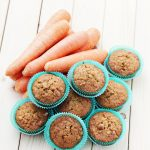 Muffins carottes – cannelle faciles