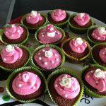 Cupcake chocolat amandes topping mascarpone
