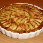 Tarte aux pommes à la frangipane