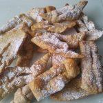 Bugnes (craquantes et sans beurre)