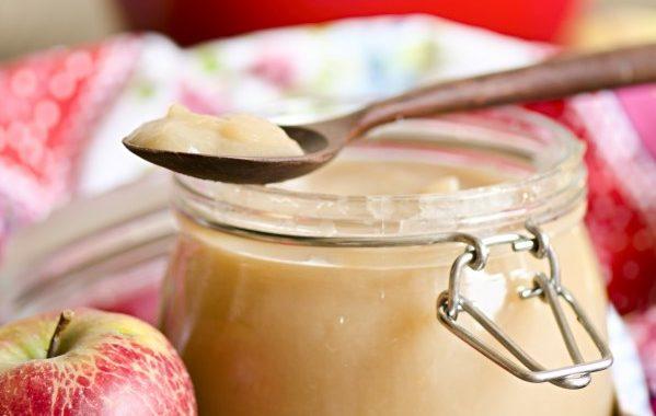 Compote de pommes aux pruneaux
