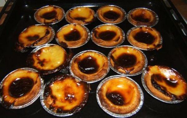 Pastel nata (Portugais)