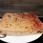 Délicieux pudding au rhum et aux raisins secs