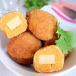 Croquettes de patates douces au fromage