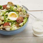 Salade césar et poulet grillé
