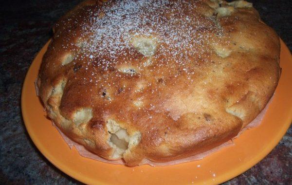 Gâteau au yaourt pomme cannelle