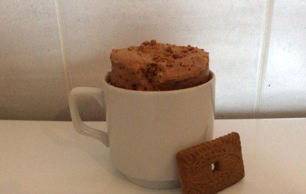 Mug cake spéculoos