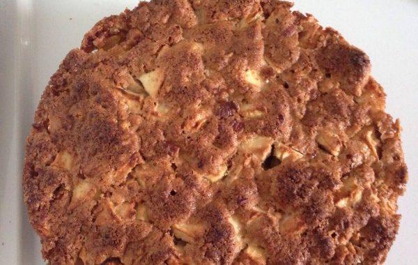 Gâteau aux pommes et aux noix de mon enfance!