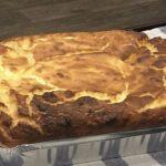 Gâteau au fromage blanc aux fraises (light)