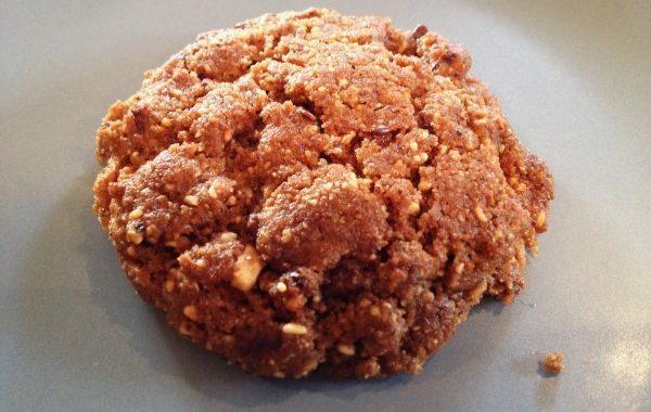 Biscuits aux noisettes et chocolat sans farine