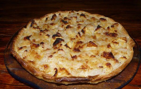 Tarte pommes-poires de Mamie Josette