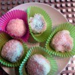 Perles de coco à la farine de riz gluant