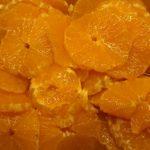 Salade d'oranges aux épices et au rhum