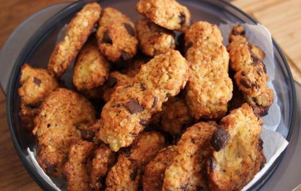 Biscuits choco-banane