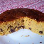 Gâteau aux mandarines, amandes et chocolat (sans gluten)