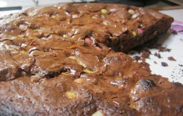 Brownie aux Smarties