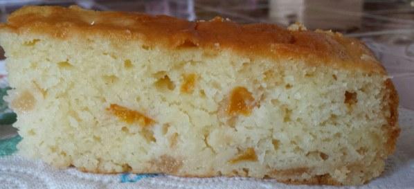 Moelleux aux poires au fromage blanc