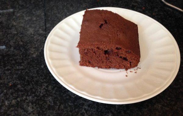 Gâteau chocolat et nougat