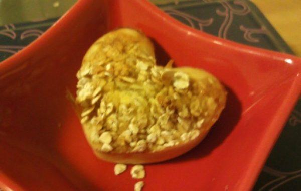 Muffins à l'avoine et au miel