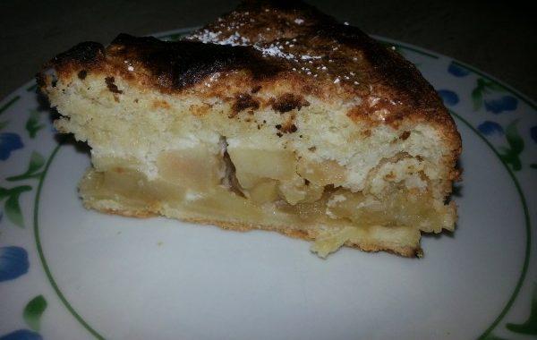 Biscuit macaron aux pommes