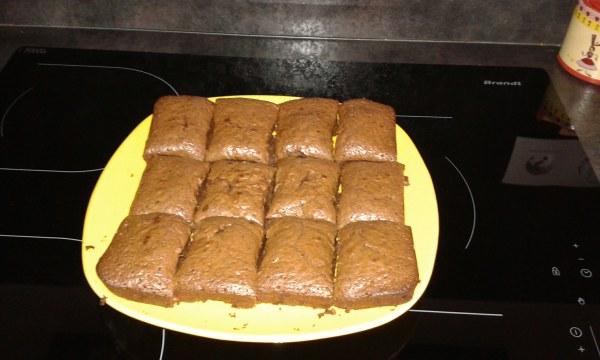 Brownie aux pépites de nougatine