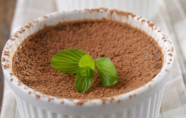 Flan de régime cacao cannelle