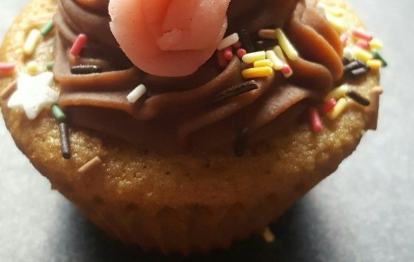 Cupcakes au chocolat pour Halloween