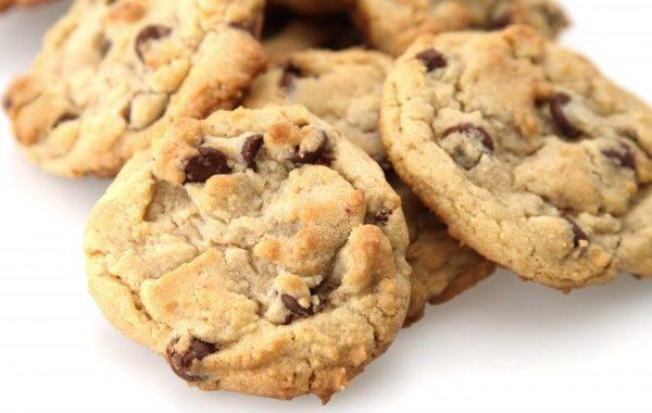 Cookies (légèrement sablés) aux pépites de chocolat