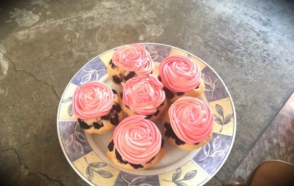 Cupcakes framboises citron